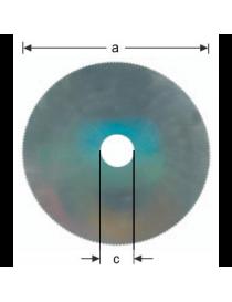 Disc circular special HSS...